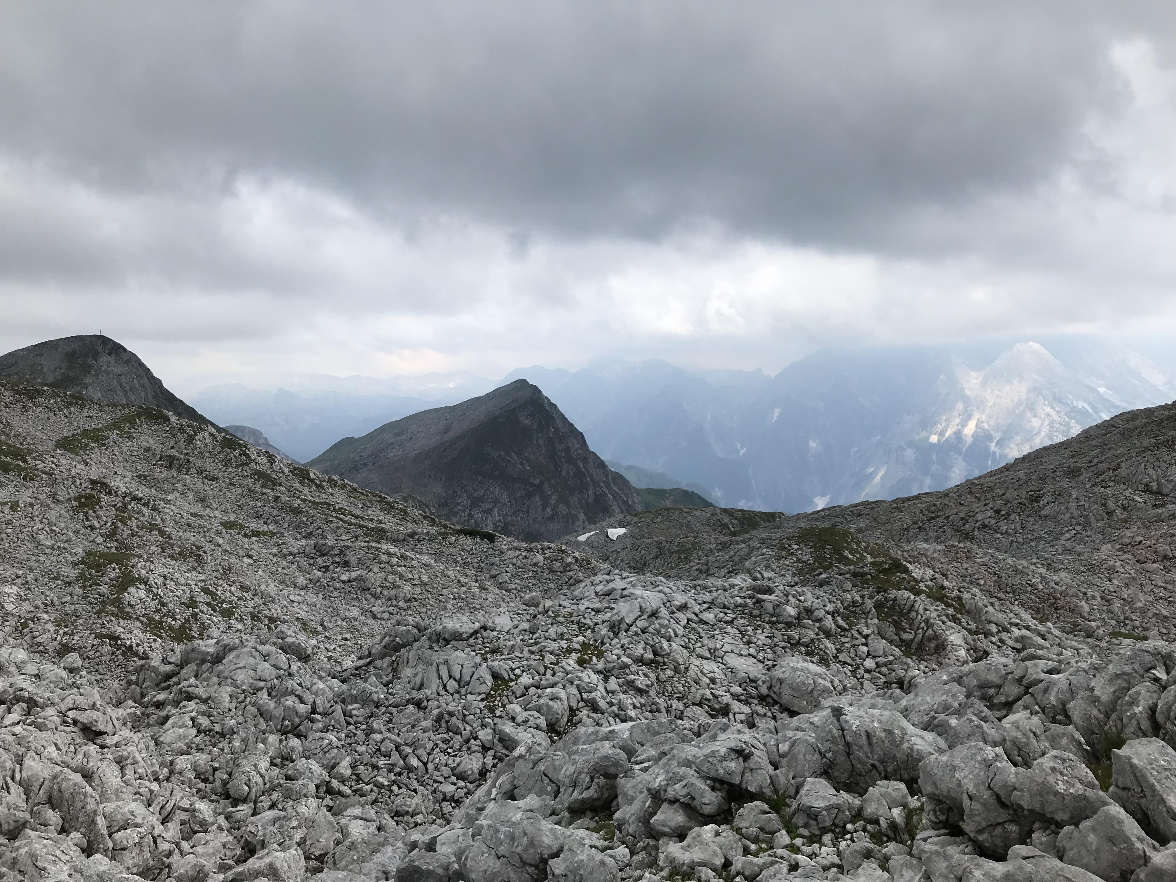 Blick auf's Hagengebirge
