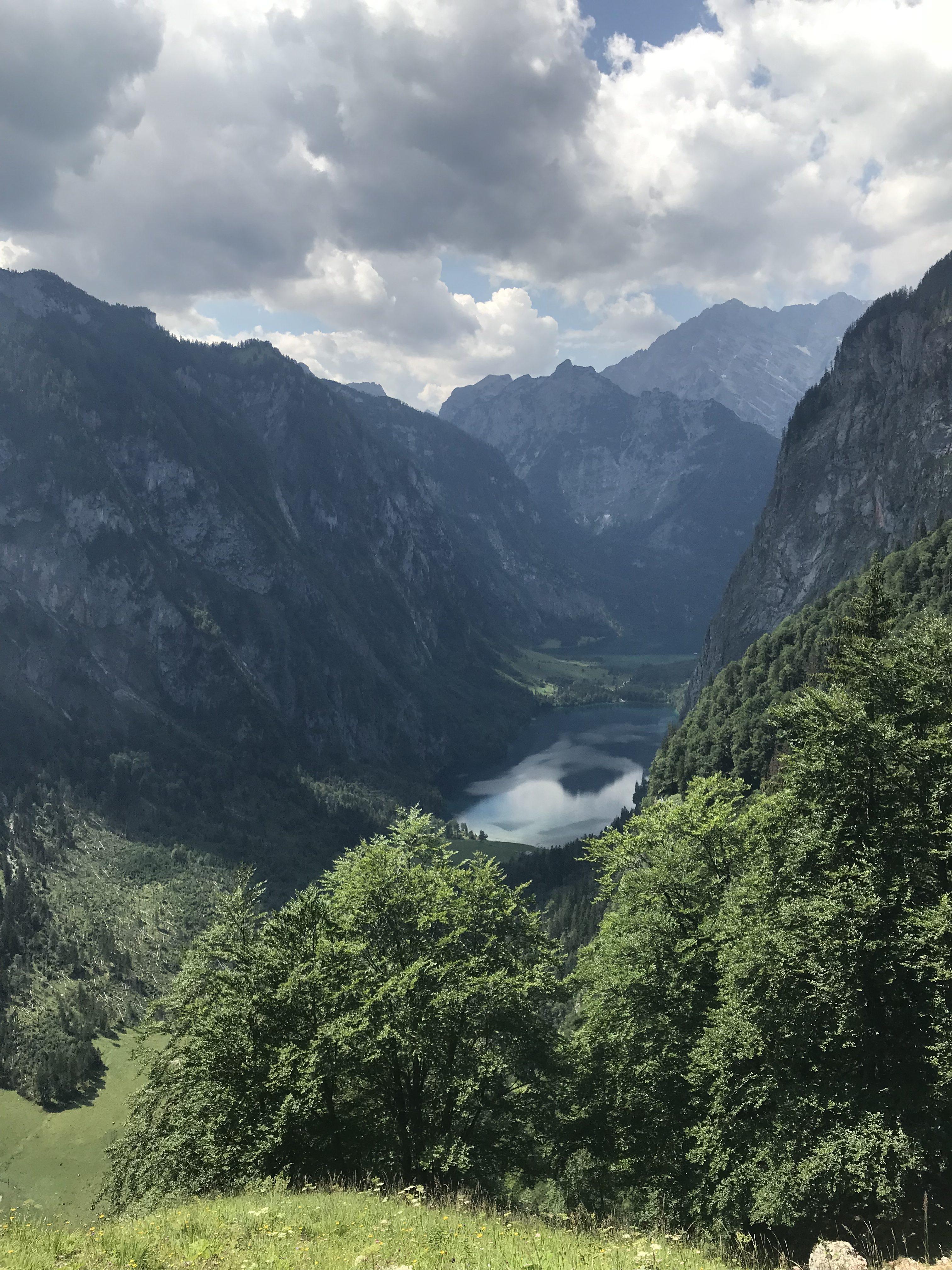 Der Obersee ... oder auch der einzige Ort mit Handyempfang